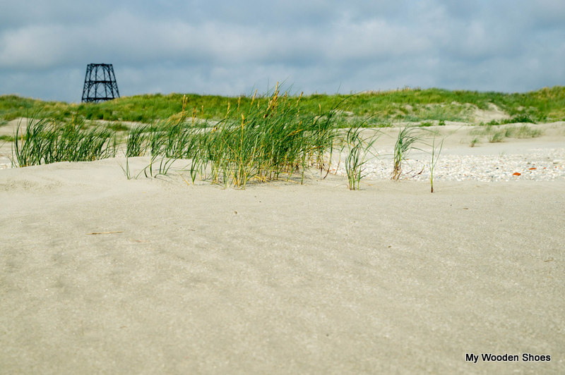Beach and dunes of Rottumeroog