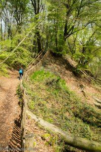 Hiking on the Mt. Kiekberg